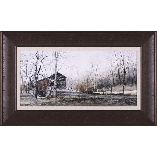 Art Effects Kissin' Bridge by Ray Hendershot Framed Painting Print