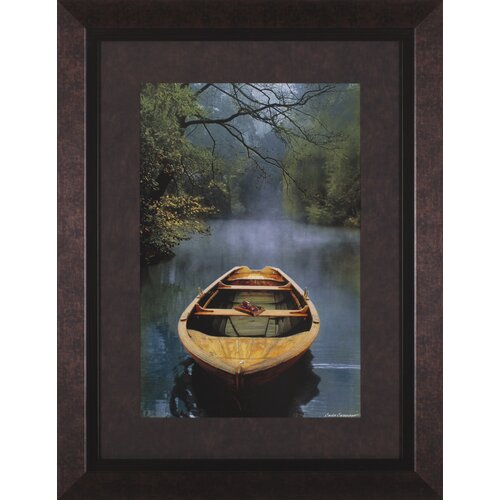 Art Effects The Old Lake by Carlos Casamayor Framed Painting Print