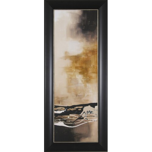 Tobacco and Chocolate III by Laurie Maitland Framed Painting Print