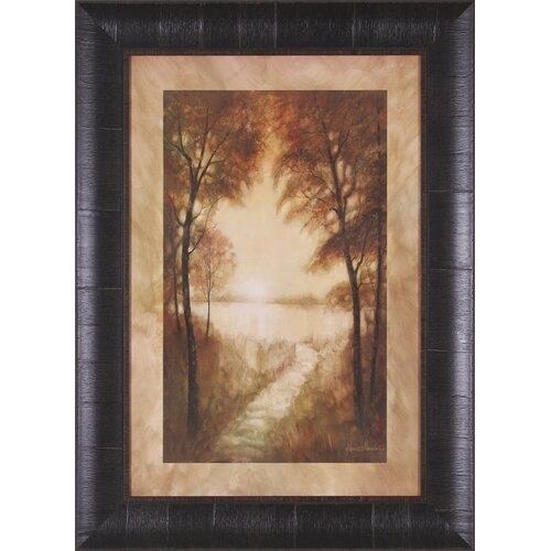 Landscape Tranquility II by Ruane Manning Framed Painting Print