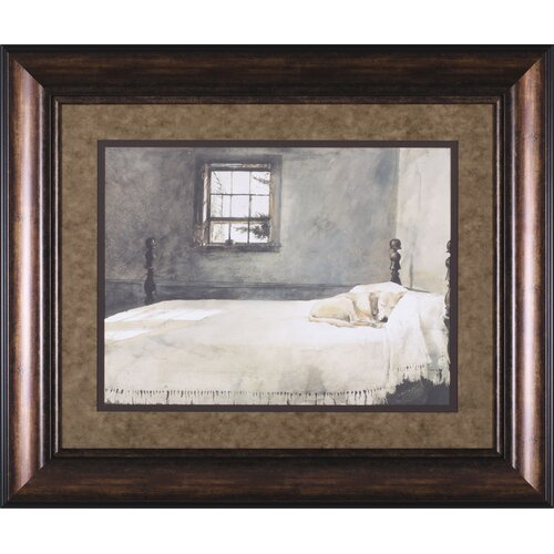 Art Effects Master Bedroom by Andrew Wyeth Framed Painting Print