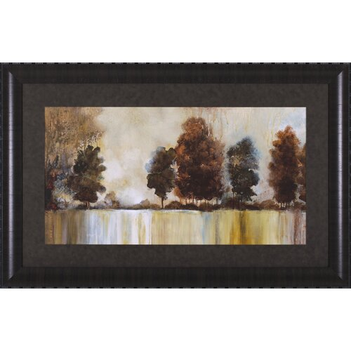 Art Effects Morning Mist by Cat Tesla Framed Painting Print