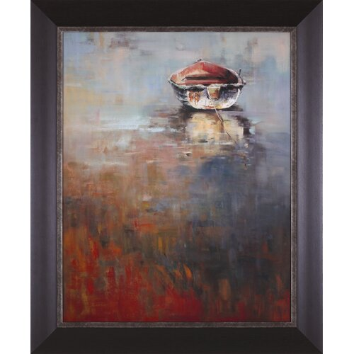 Art Effects Waiting for The Tide by A. Micher Framed Painting Print