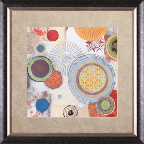 Art Effects Motions II by Tom Reeves Framed Painting Print