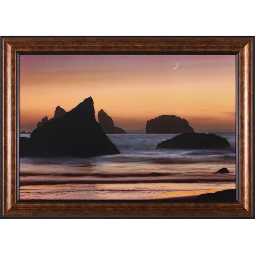 Moonset by Mike Jones Framed Photographic Print