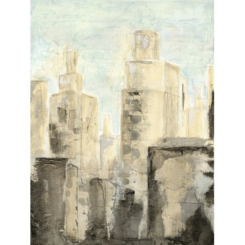 Art Effects Metropolis I by Megan Meagher Painting Print on Canvas