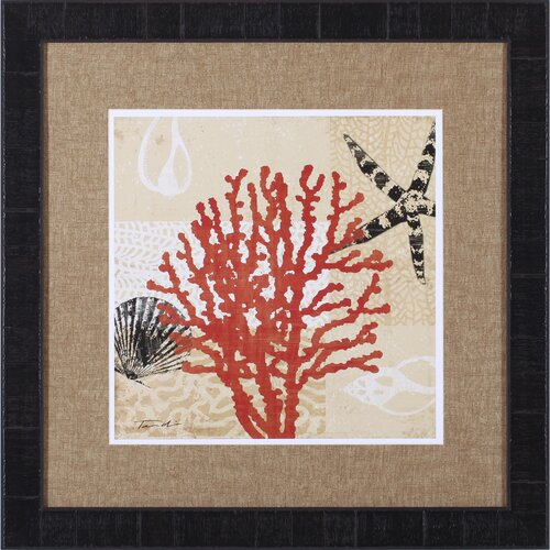Coral Impressions III by Tandi Venter Framed Painting Print