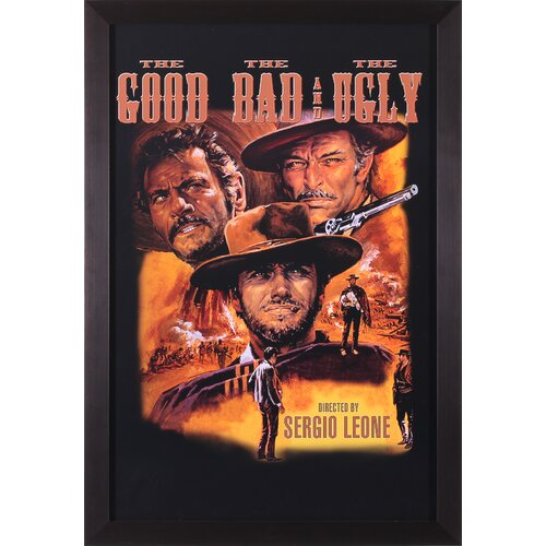 The Good, The Bad, and The Ugly Framed Vintage Advertisement
