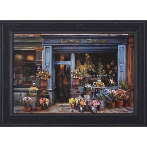Art Effects L'artisan Fleuriste by Marilyn Hageman Framed Painting Print
