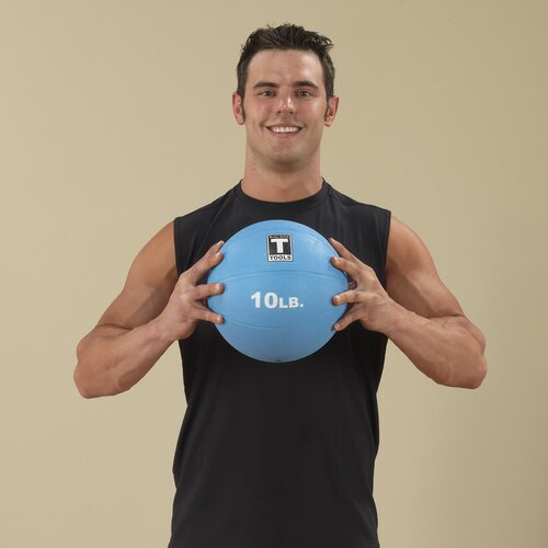 Body Solid Medicine Balls in Blue