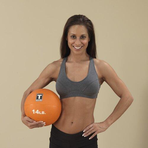 Body Solid Medicine Balls in Orange