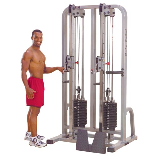 Body Solid Pro Club Line Dual Cable Crossover Machine Column Gym