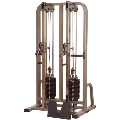 dual cable crossover machine
