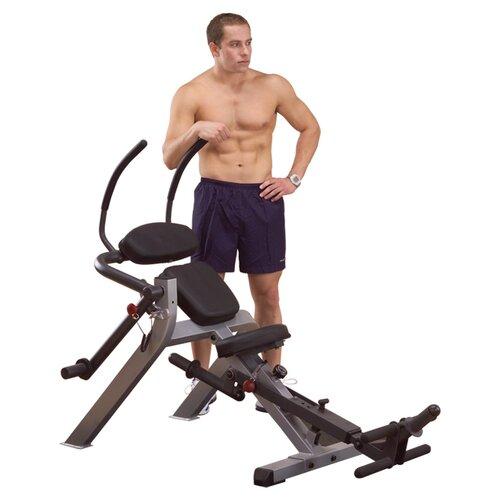 Semi-Recumbent Ab Gym