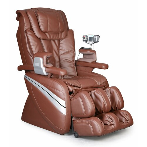 Cozzia CZ-366L Robotic Leather Heated Reclining Massage Chair