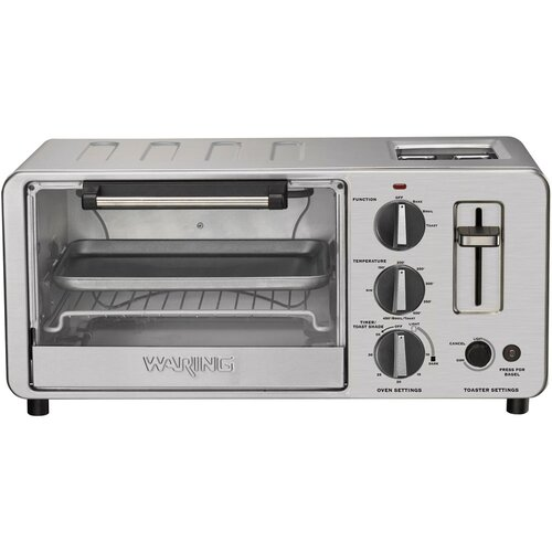 Waring Professional 0.45-Cubic Foot Combination Toaster Oven & Toaster