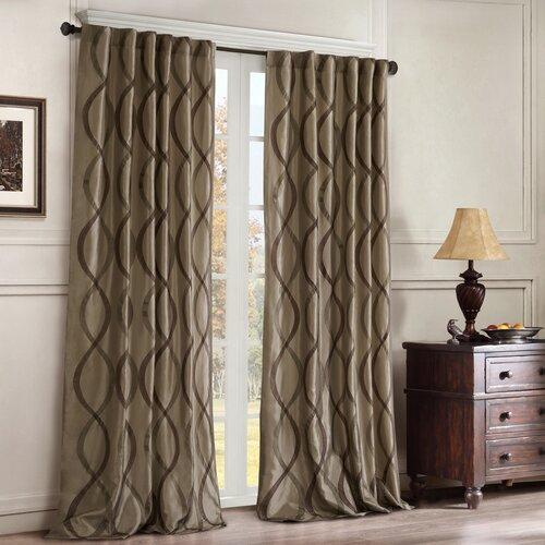 JLA Home Serendipity Rod Pocket Window Curtain Single Panel