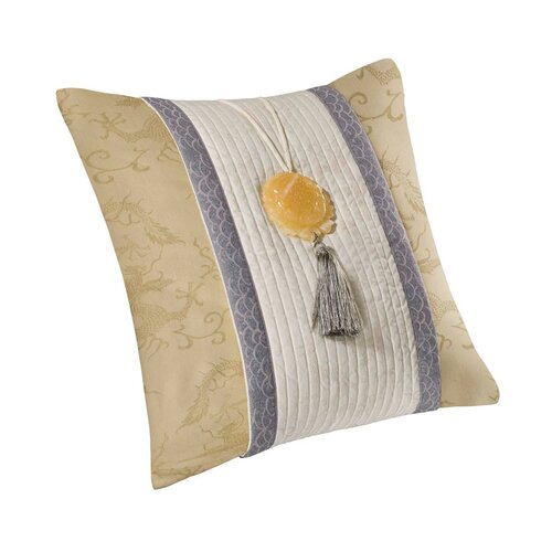 Lotus Temple Viscose Cotton Pillow
