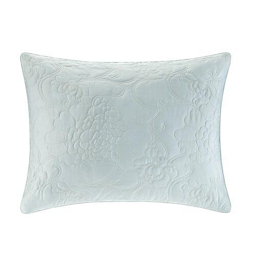 Natori Mantones de Manila Silk Cotton Quilted Duvet Sham