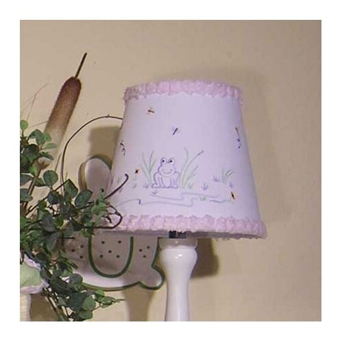 Brandee Danielle Froggy Lavender Lampshade