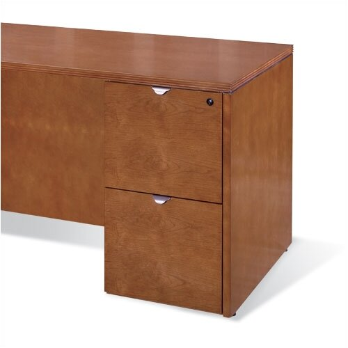 OSP Furniture Kenwood File/File Pedestal for Credenza