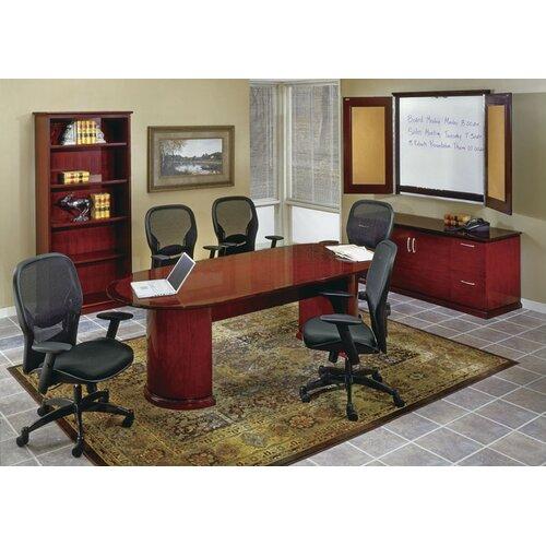 OSP Furniture Mendocino Standard Desk Office Suite
