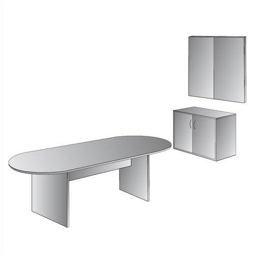 OSP Furniture Napa Presentation 4' x 4' Whiteboard