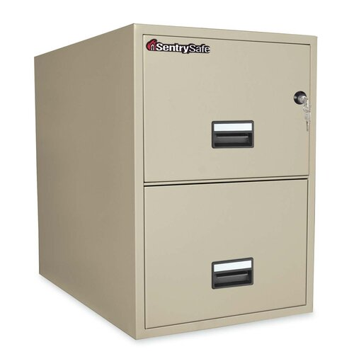 2 Drawer Legal Fire File
