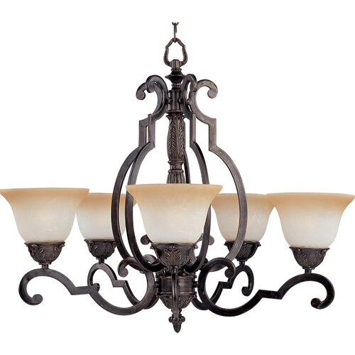 Southern 5 Light Chandelier
