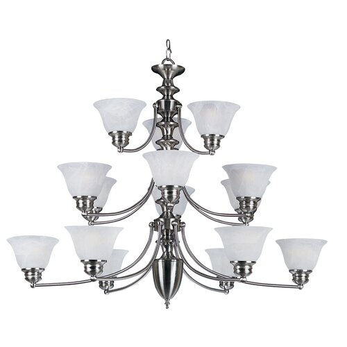 Wildon Home ® Malaga 15 Light Chandelier