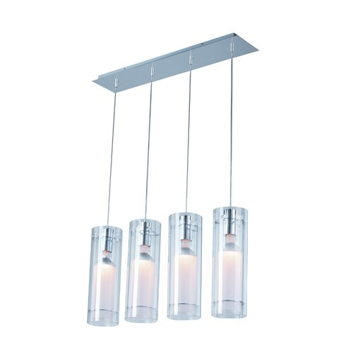 Wildon Home ® Mraz 4 - Light Linear Pendant