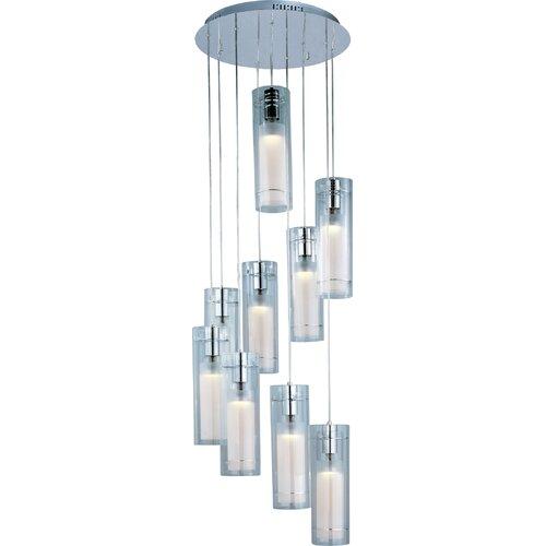 Wildon Home ® Mraz 9 - Light Multi - Light Pendant