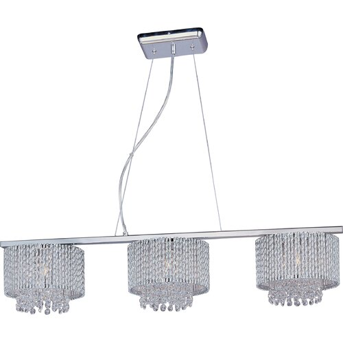 Wildon Home ® Milo 3 - Light Linear Pendant