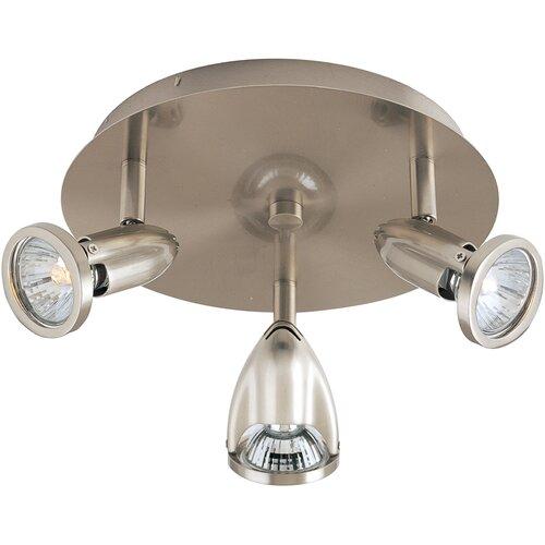 Wildon Home ® Agron 3-Light Flush Mount