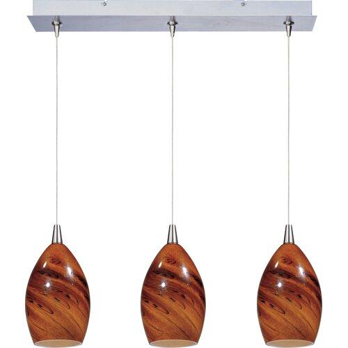Wildon Home ® Minx 3 Light Linear Pendant