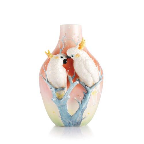 Sweet Companions Sulphur Crested Cockatoo Vase