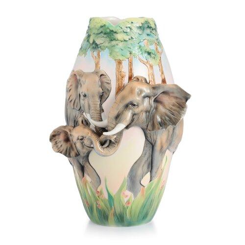 Family Fun Elephant Vase