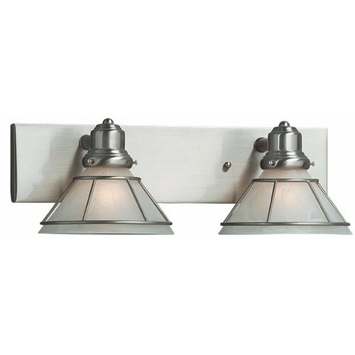 Dolan Designs Craftsman 2 Light Vanity Light