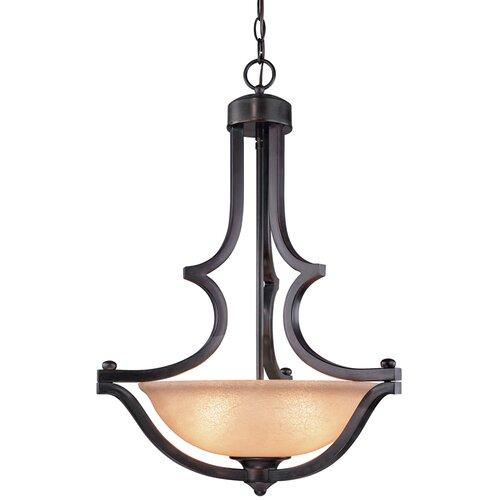 Dolan Designs Garrison 3 Light Inverted Pendant