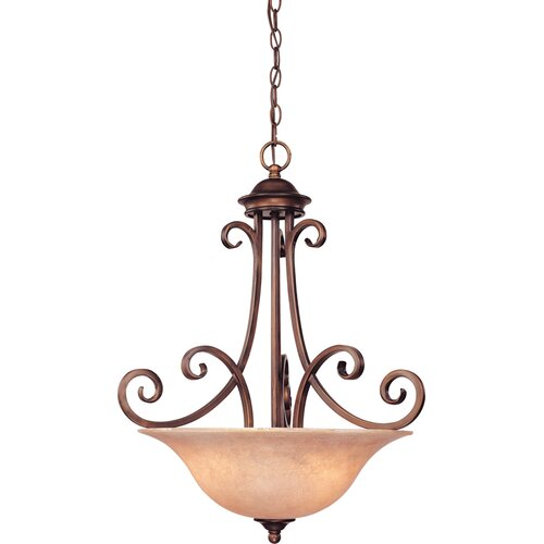 Dolan Designs Medici 3 Light Inverted Pendant