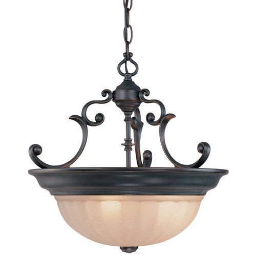 Dolan Designs Richland 3 Light Inverted Pendant