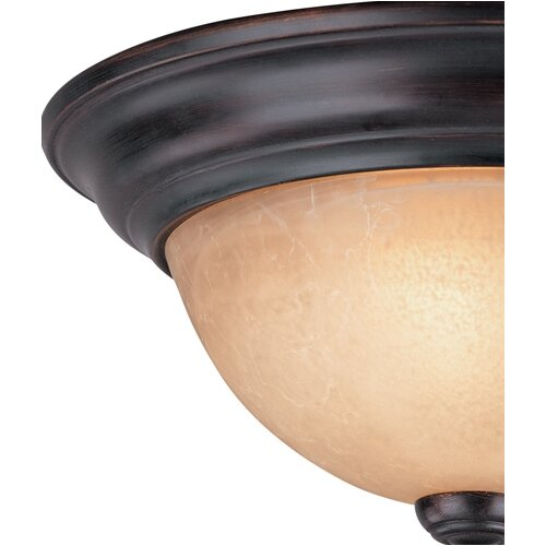 Dolan Designs Savannah 1 Light Flush Mount
