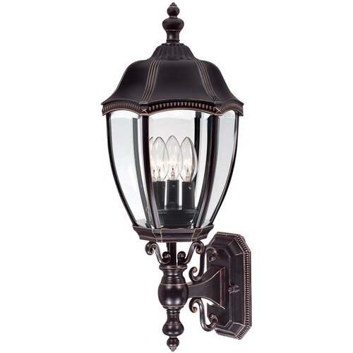 Dolan Designs Roseville 3 Light Outdoor Wall Lantern
