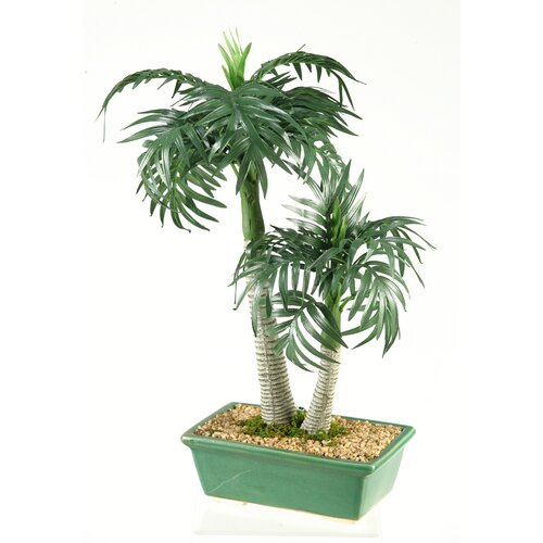 D & W Silks Miniature Roystone Tree in Planter