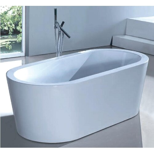 ECT Global Reflection Oval Bath Tub