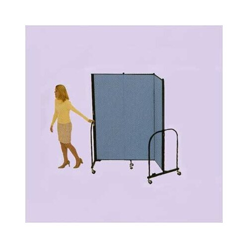 ScreenFlex Commercial Edition Three Panel Portable Room Divider