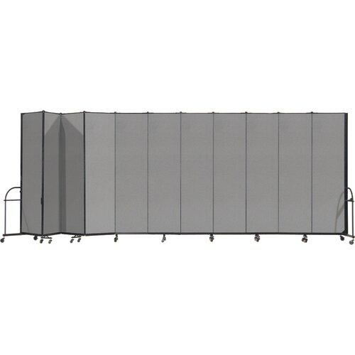 ScreenFlex Heavy Duty Eleven Panel Portable Room Divider