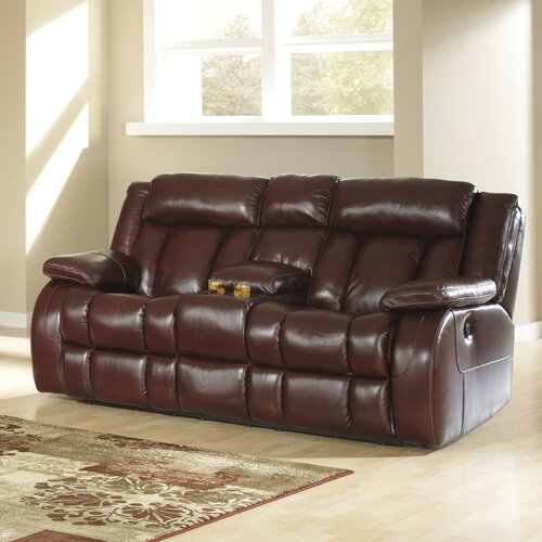 Ernest Double Reclining Loveseat