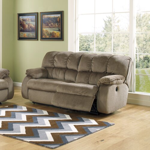 Laurel Double Seat Reclining Sofa