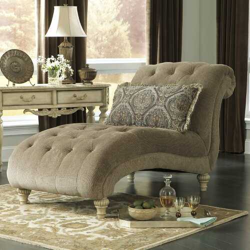 Signature design by ashley milton chaise lounge reviews for Ashley chaise lounge sofa